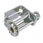 41-3BARDBL-STDG7 – Web Winch 3 Bar Double L Lo Pro Slider-Galvanize- 5,500 lbs. WLL