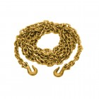 """50-516-7 – Load Binder Chain - 5/16"""" x 16' With Clevis Hooks, 4,700 lbs. WLL"""